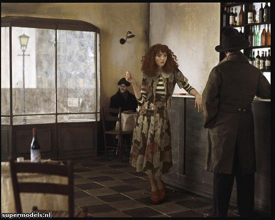 Lily Cole in 'The Goldfish'  - by Paolo Ventura