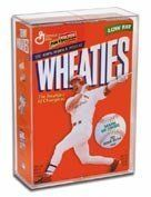 BallQube Cereal Box Display Case - Holder by Creative Sports. $17.99. A sports memorabilia Wheaties box in good condition can be worth hundreds of dollars. More than that, if you're a sports collector, this iconic representation of America's best athletes carries emotional and historical value. Don't take a chance on letting your unique collectible suffer the ravages of time. BallQube's cereal box display will keep your Wheaties boxes in pristine condition. Interior Dimensions...