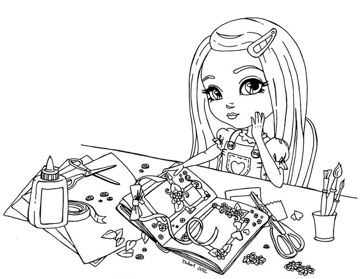 Scrapbooking by *JadeDragonne on deviantART: