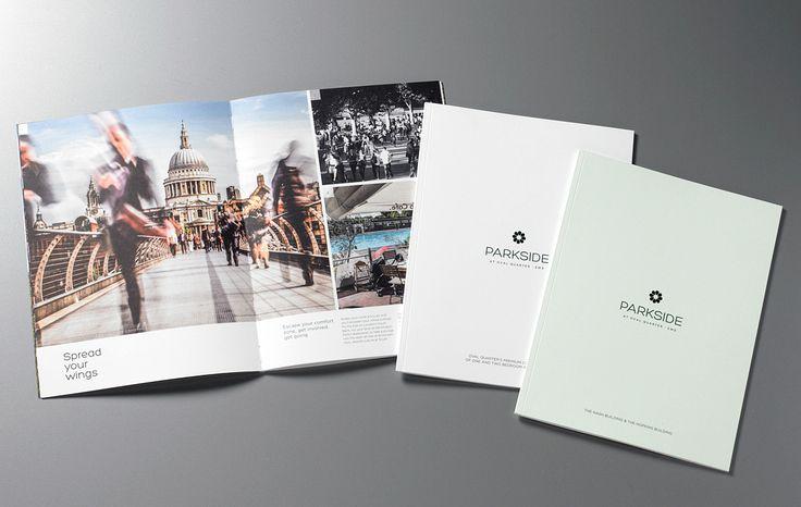 Ransomeu0027s Wharf brochure spread GQ Brochure Design Pinterest - property brochure