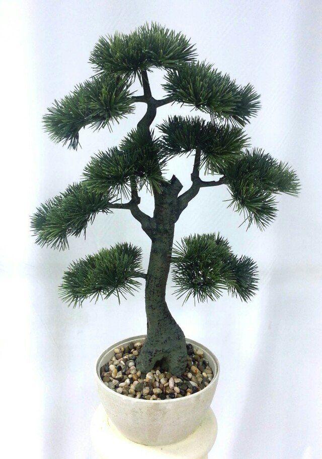 Indoor Giant Podocarpus making Artificial Cedar Bonsai,artificial mini bonsai pine trees for sale
