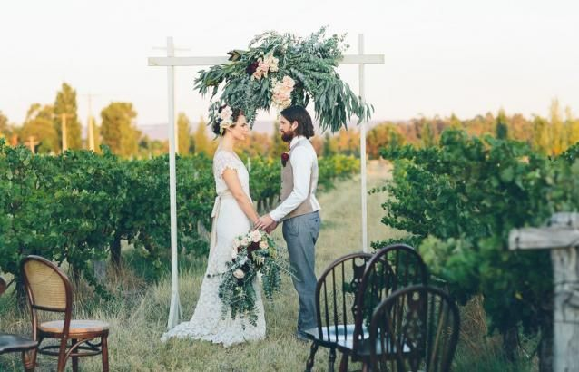 Image 13 - A vineyard escape in Styled Shoots.