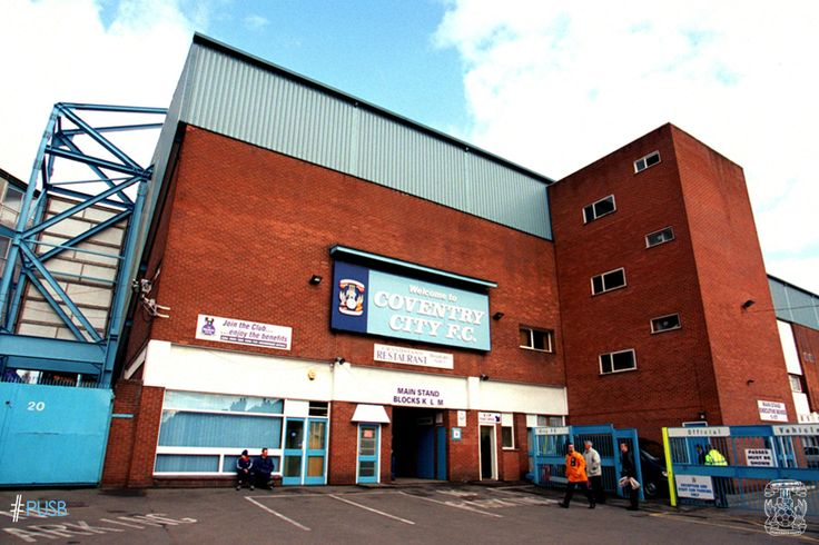 The Main Stand entrance in the late nineties.