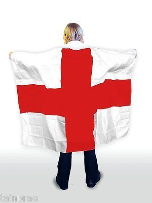 St #george #cross #england flag body cape,  View more on the LINK: http://www.zeppy.io/product/gb/2/201390741617/