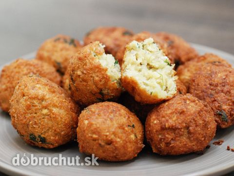 Fotorecept: Falafel- cícerové arabské gule