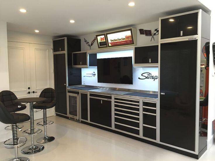 garage photos aluminum storage cabinets moduline cabinets