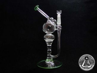 Mini Bishop Pump Action Glass Dab Rig