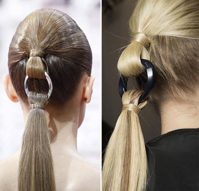Spring/ Summer 2015 Couture Beauty Trends: Hairstyles  #hairstyles #beauty #beautytrends