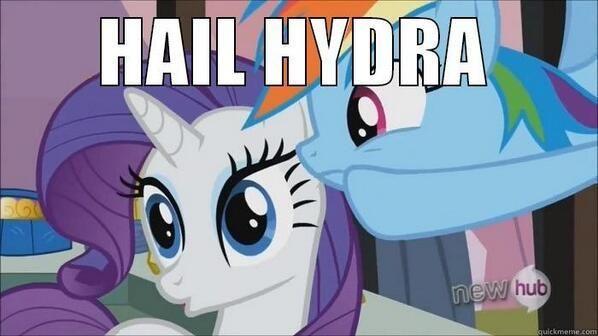 Hail Hydra meme!