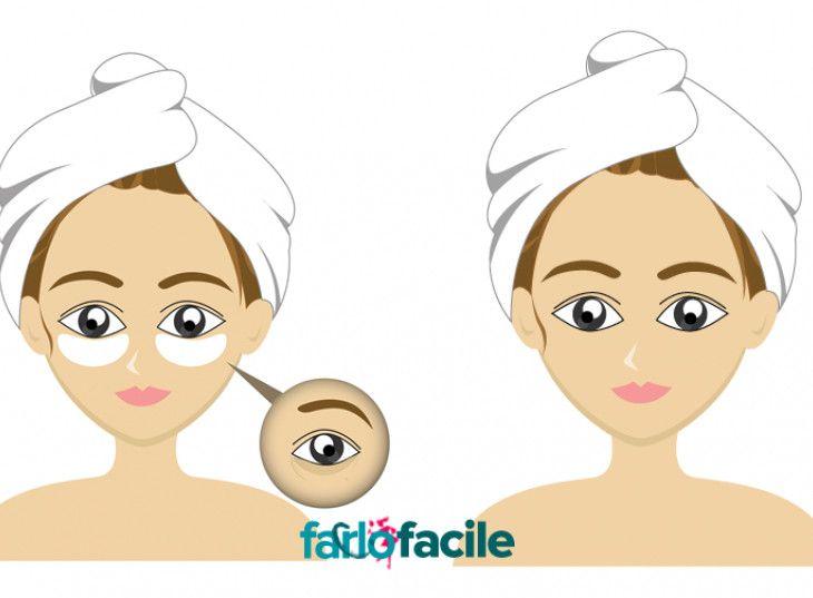 Massaggio per occhi da borse sotto occhi video