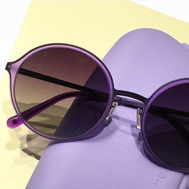 MODO Paper-Thin Titanium sunglasses  model 666 in Violet  @artseebpc  #modoeyewear #buyaframegiveaframe #modoworldwide