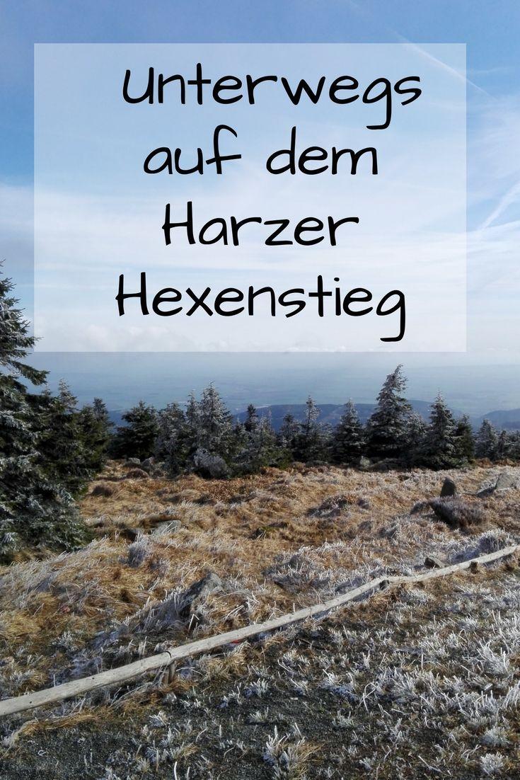 Unterwegs auf dem Harzer Hexenstieg, Wandern. Harz, wandern in Deutschland