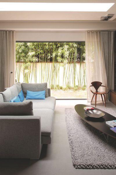 1000 id es sur le th me baie coulissante sur pinterest baie coulissante alu menuiserie alu et. Black Bedroom Furniture Sets. Home Design Ideas
