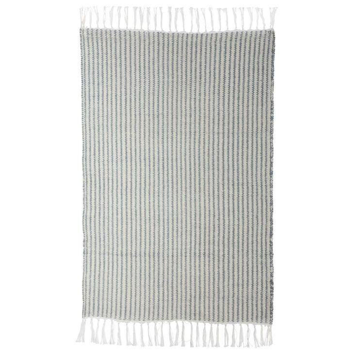 Stripe teppe, grå/beige i gruppen Rom / Hall / Halltepper hos ROOM21.no (128029r)