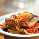 Try the Pork Chops with Peperonata Recipe on williams-sonoma.com