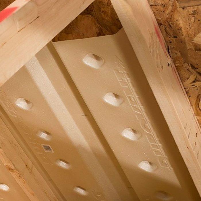 Install Insulation Rafter Installation Vented