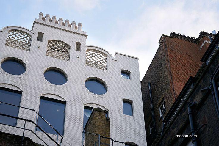Röben Klinker, Bricks | Keramik-Klinker OSLO perlweiß | Planung: Short and Associates und MJP Architects, London |  Foto: Frank Peterschröder