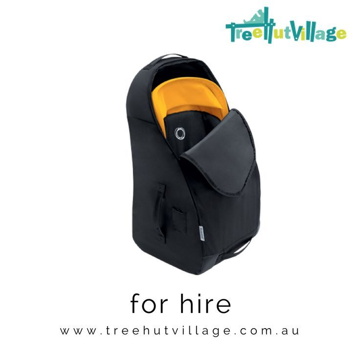 Bugaboo Comfort Transport Bag   Rent or Hire from Tree Hut Village   Click here to large range of baby equipment available to rent or borrow from other parents   Great for family travel #familytravel #bugaboo
