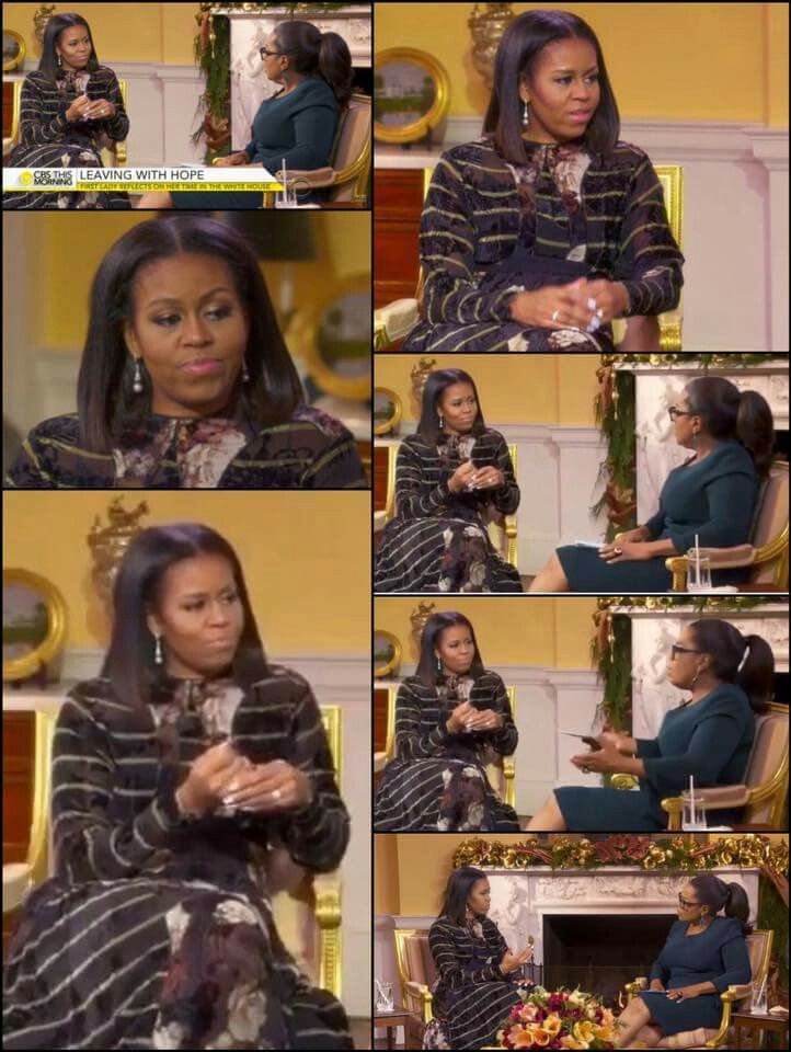 Oprah's interview with the CLASSIEST 1ST LADY EVER!!!