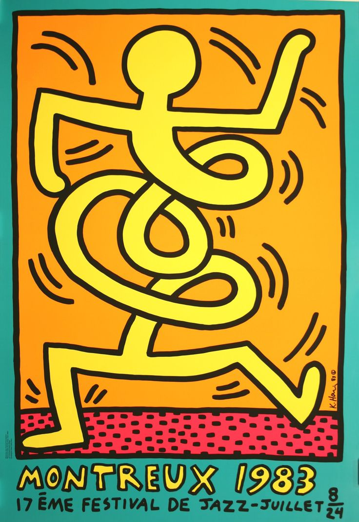 Montreux Jazz 1983 - Yellow Man by Haring