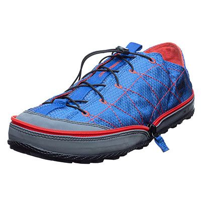 Timberland Radler Camp Shoes. Fleece-lined with lugged rubber treads, and zips up for packing. $65.00   timberland.com
