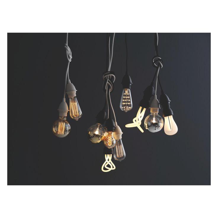 CALEX E27 40W decorative gold filament rustic light bulb
