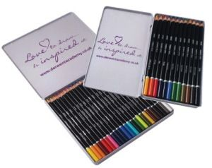Derwent Academy Colour Pencil Tins