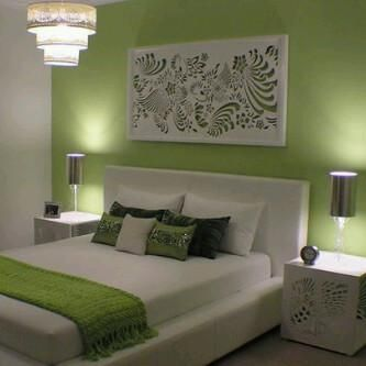 green feature wall bedroom design ideas pinterest feature walls feature and green - Feature Wall Bedroom