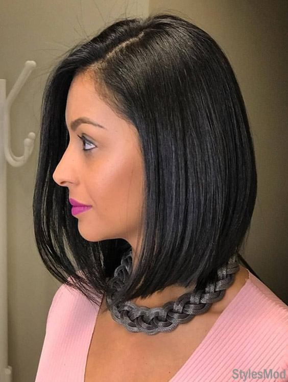 Cute Black Short Haircut Trends & Styles for 2018-2019 ...