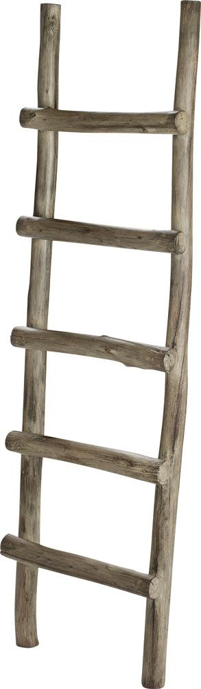 ♥ My white country house ♥ - Stege ladder, Creekwood grey - Artwood