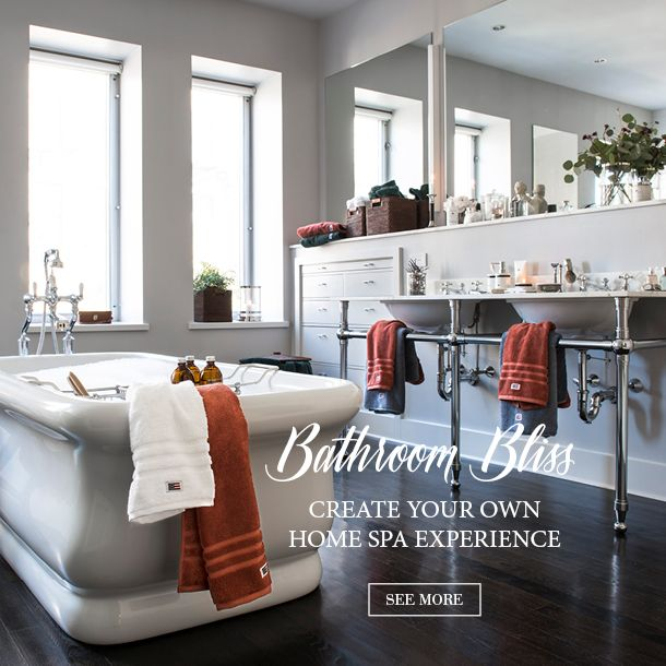 Create you own home spa experience.
