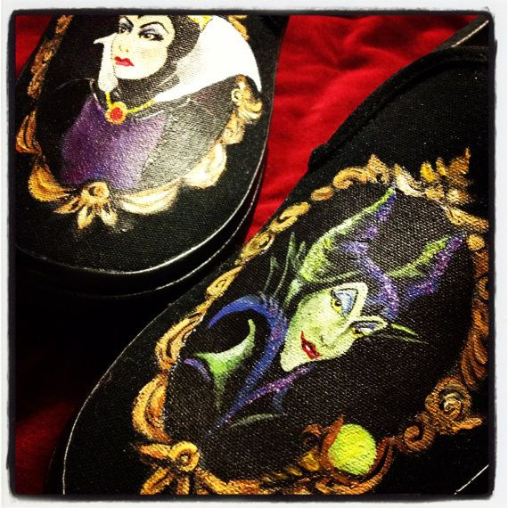 Custom Painted Shoes - Made to Order - You Choose Design
