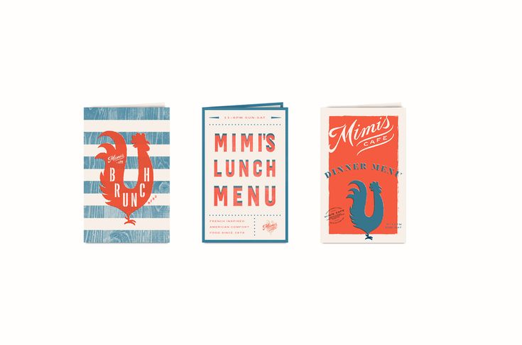 How do you infuse American comfort food with distinctly French flavor? By harkening back to period driven by typography and illustration and blending it with modern takes on American classics.