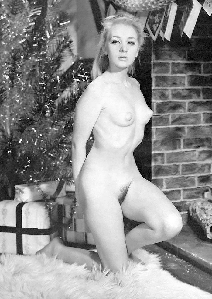 Something Vintage nude christmas girls