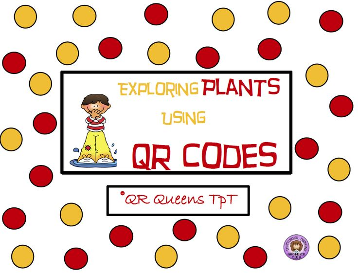 """FREE SCIENCE LESSON - """"Exploring Plants Using QR Codes"""" - Go to The Best of Teacher Entrepreneurs for this and hundreds of free lessons.   http://thebestofteacherentrepreneurs.blogspot.com/2013/04/free-science-lesson-exploring-plants.html"""