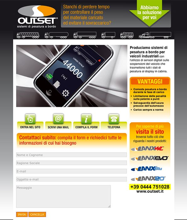 Outset - #Web #Marketing #landingpage