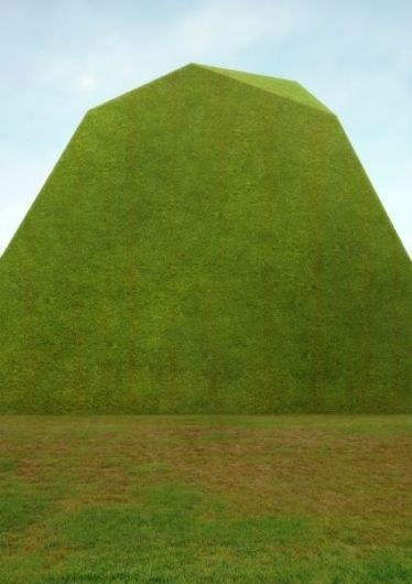The building seemed to be built of stone.