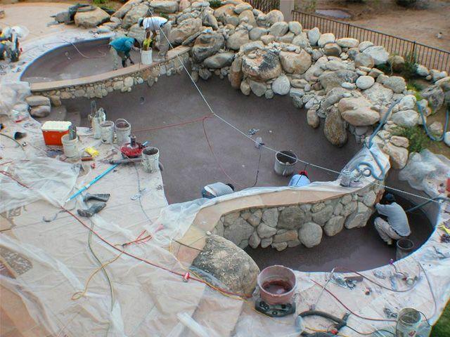 Natural Pool In Progress
