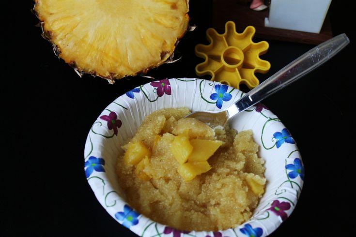 Pineapple kesari/ pineapple semolina pudding