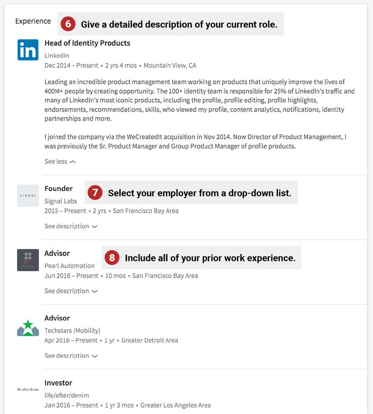 In just a few minutes, you can significantly improve your LinkedIn page to help you land your next job.