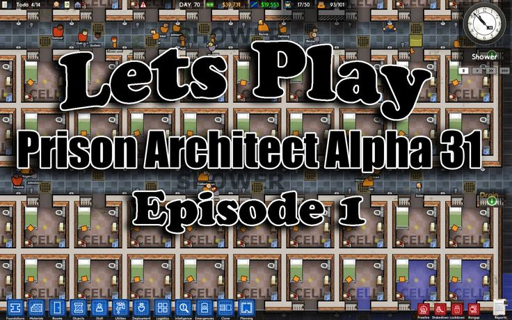 Lets Play Prison Architect Alpha 31 Ep1 Lets Play Prison Architect Alpha 31 Episode 1 This is a Lets Play on Prison Architect for Alpha Version 31. Part 1 of this Lets Play demonstrates the features of the game through game play. Want to see more? Make sure to Subscribe and Like! Twitter  http://www.twitter.com/legendarybacon_ Google  http://ift.tt/1HDXeoc Twitch Streaming http://ift.tt/1F2gDSu Facebook  http://ift.tt/1HDXfIZ Website  http://ift.tt/1F2gGNS Tumblr  http://ift.tt/1HDXfJ1 Bacon…