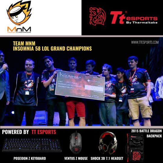 MnM Gaming- Powered by #TteSPORTS