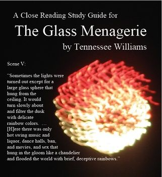 25 best my literature units at tpt images on pinterest close the glass menagerie close reading study guide answer key 11 pages fandeluxe Gallery