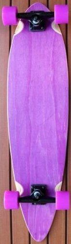Purple Pintail Cruiser Complete Longboard Skateboard by Cruiser Boards. $99.95. Brand New!