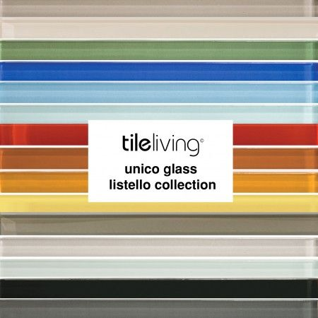 Perfect for kitchen back splash and accents! #glasstile #kitchentile Decorativo Unico Glass Tile : tileliving.com