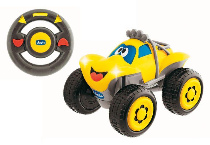 CHICCO R/C Fernlenk-Auto Billy Big Wheels, gelb, CHICCO - myToys