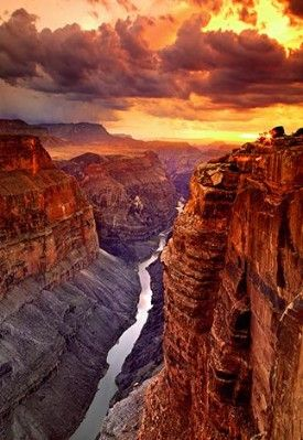 Heaven On Earth - Grand Canyon - North Rim - Arizona by Peter Lik.