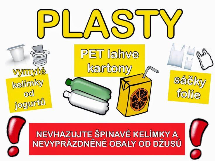 Odpad, třídění odpadu, plast, koš, ekologie, eko.