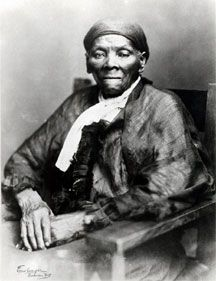 Harriet Tubman, Republican. (1820~1913) The leader of the underground railroad.