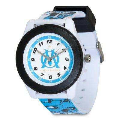 Olympique de Marseille Skull Strap Plastic Watch - Junior